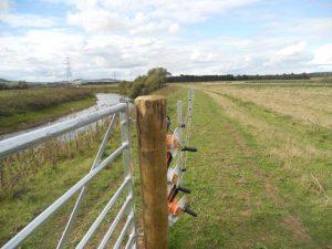 Clipex fencing at West Fenton